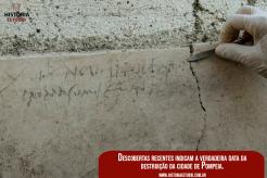 Descobertas recentes indicam a verdadeira data da destruição de Pompeia