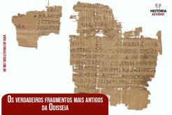 Os verdadeiros fragmentos mais antigos da Odisseia