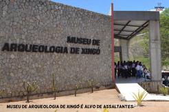 Museu de Arqueologia de Xingó (UFS) é alvo de assaltantes.