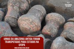 Urnas da Amazônia Antiga foram transportadas para estudos na UFOPA