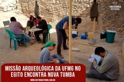 Missão Arqueológica da UFMG no Egito encontra nova tumba