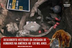 Descoberto vestígios da chegada de humanos na América há 130 mil anos