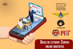 Quarentena de Estudos com cursos online grátis