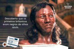 Descoberto que os primeiros britânicos eram negros de olhos azuis